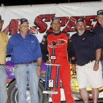 Matt Miller takes win at Eldora Speedway!