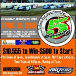 Slocum 50 at 34 Raceway on April 18th